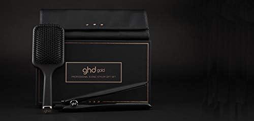 GHD – Estuche seriizado limitado – Estuche Gold Styler negro + bolsa termorresistente y cepillo plano – Plancha profesional – Ideal para cabello sensible: Amazon.es: Belleza