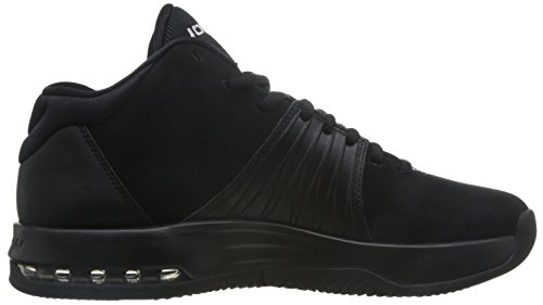 best sneakers d6f6c daa55 Nike Mens Jordan 5 AM Black White Nubuck Leather Trainers ...
