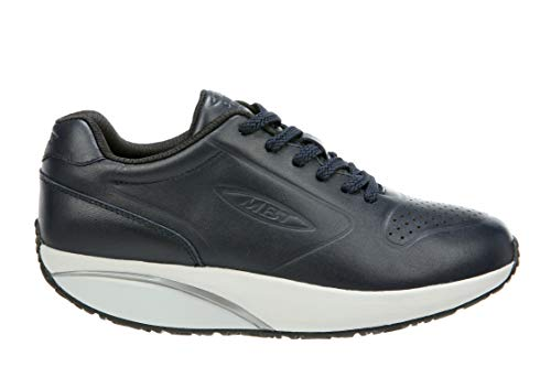 Mbt Athletic Shoes - MBT Shoes Women's 20th Anniversary Athletic Shoe: Navy/Leather 7 Medium (B) Lace Up