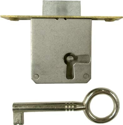 "Door Brass Locks Antique Vintage Hardware Set Mortise Lock Set 1-3//8/"" x 1-3//4/"""