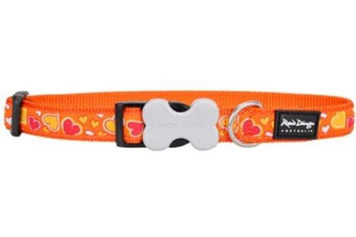 Dog Collar - Breezy Love Orange - Size Large
