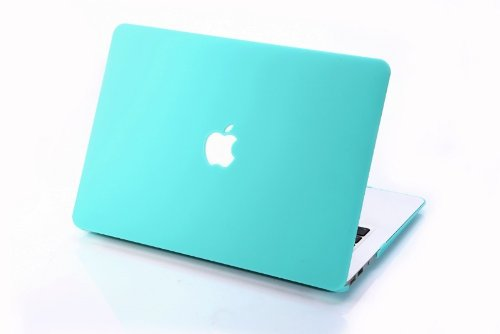 (HQF 13-inch Snap-on Hard Case- Silicone Rubber Shell Case Cover Fit for MacBook Pro 13.3