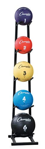 Champion Sports MBR1 Medicine Ball Tree