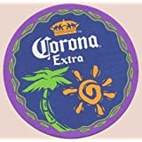Corona Extra Paperboard Coasters - Set of 4 - Two Different Designs