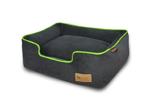 Pet Lifestyle and You Urban Plush Lounge Bed, Small, Lime (Eco Friendly Dog Beds)