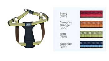 Coastal Pet Products DCP36445BRY K9 Explorer 5/8-Inch Harness for Dogs, Small, Berry