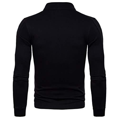 Codice Cardigan black Casual Versione Blend Maglione Gioventù Giacca Ou Collare Toosd Piedi Uomo Da Giacche In Slim l Cotone Bn0wxCRzFq