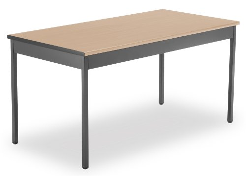 OFM UT3060-MPL Utility Table, 30 by 60-Inch, Maple (Maple Office Table)