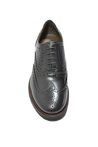 Chaussures lacets femme Giardini noir de noir Nero pour à ville 54XPRqw