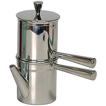 Amazon.com: Ilsa Neapolitan 6-Cup aluminio Cafetera ...