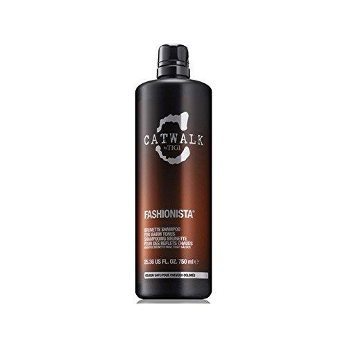 ティジーキャットウォークファッショニスタのブルネットのシャンプー(750ミリリットル) x4 - Tigi Catwalk Fashionista Brunette Shampoo (750ml) (Pack of 4) [並行輸入品] B071V7G9C7