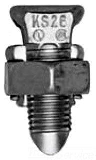 Burndy Split Bolt - Burndy Split-Bolt Connector, 4 str to 1/0 str