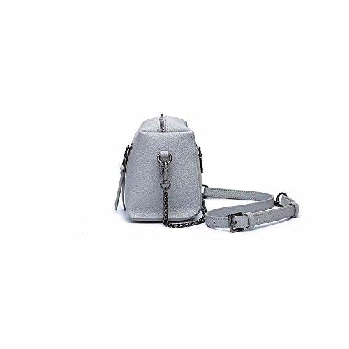 coursier petit épaule de nouvelle sac chaîne 9cm 13 clair sac Gris gris 2018 Clair stylé 22 nIxS0wq