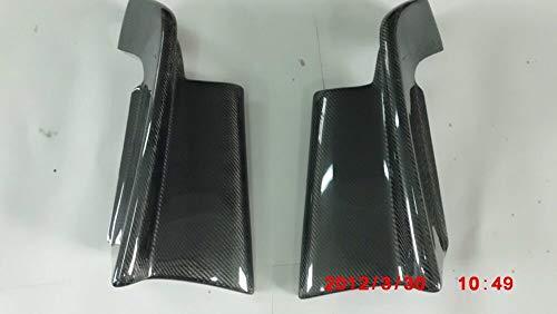 - FidgetKute Carbon Fiber Rear Spats Bumper Corners for 1995-1998 Nissan Skyline R33 GTST