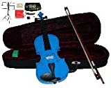 "Merano 15"" Blue Viola with Case and Bow+Extra Set"