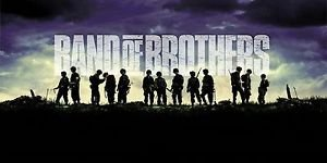 Bingirl 4723 Band of Brothers Brothers Poster Drama HBO Military 24x48 inches Wall Deco