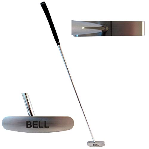 Best Bell Putters Non/No Offset Golf Putter 340g Blade Right-Handed/RH with Tacki-mac Tour Select Standard Putter Grip and 34