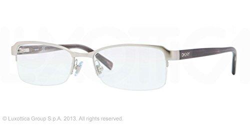 Amazon.com: DKNY DY5639 Eyeglasses 1029 Matte Silver Frame Size 52 ...