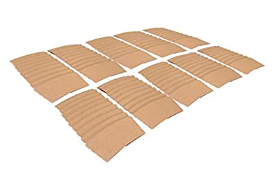 Southern 94 Coffee Cup Sleeves, 100 Pack, Protect Against Hot Beverages such as Coffee, Tea, and Cocoa, Fits 12 and 16 Ounce Cups