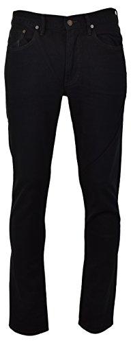Polo Ralph Lauren Mens Varick Slim-Straight Fit Five Pocket Corduroy Pants - Black - 32W x 32L