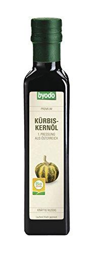 Byodo Bio Kürbiskernöl, 1. Pressung, 1er Pack (1 x 250 ml)
