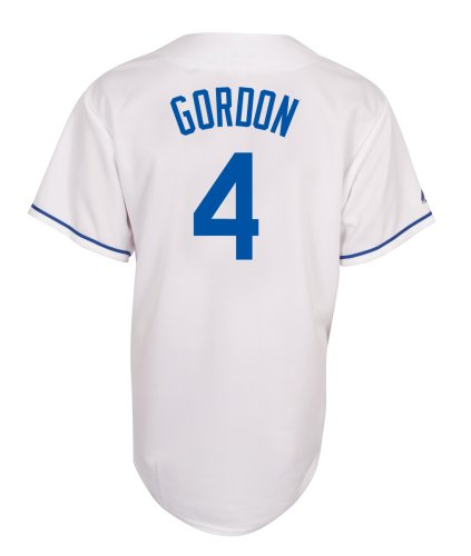 MLB Alex Gordon Kansas City Royals Youth Replica Home Jersey (Medium)