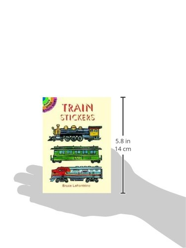 Train Stickers (Dover Little Activity Books Stickers) by Dover (Image #2)