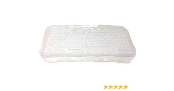 Viziflex Anti-Microbial Keyboard Cover Compatible with Verbatim HPKU0901 Part 19H93