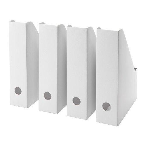 Ikea Fluns Magazine file, White (Set of 25) by IKEA
