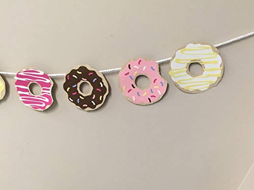 Donut, banner, colourful, Plain, Doughnut, garland, Sprinkle, Icing, donuts, party, photo, cake smash, doughnut, decor, sweet, doughnuts, -