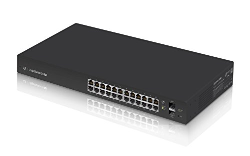 Ubiquiti ES-24-LITE 24-port + 2xSFP Gigabit switch 1U Rack 19'' by Ubiquiti Networks