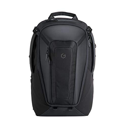 (System G Carry Plus Laptop Backpack Black 17 Inch Everyday Carry for Travel, School, Business & Gaming)