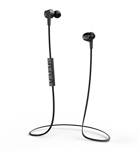 Bluetooth Headphone, Liger XS1 Wireless Sport Bluetooth 4.1 Sweat Proof, Noise Cancelling Earbud with Mic for Handsfree Calling for iPhone 6 Plus to 4S, Samsung Galaxy, Note, and Bluetooth Compatible