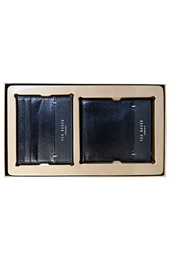 Ted Baker Taglee Wallet Set in Black One Size