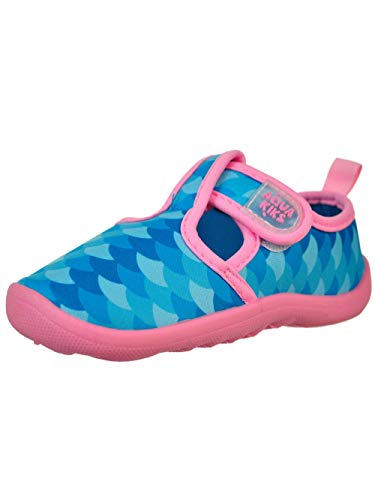 Aqua Kiks Girls' Water Shoes - Mermaid, 5 Toddler