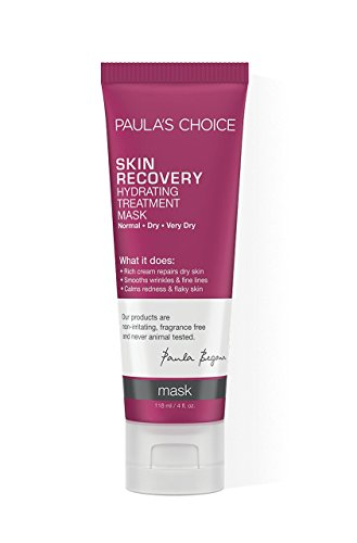 Paula's Choice SKIN RECOVERY Hydrating Treatment Facial Mask, 4 Ounce Bottle, for Extra Dry Skin (Best Hydrating Serum For Sensitive Skin)
