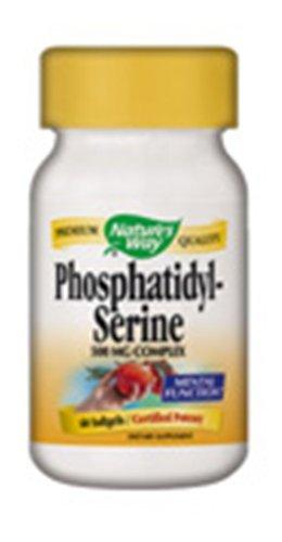 Nature's Way 45161 Phosphatidylserine,500 mg Complex,60 ()