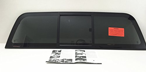 Fits 2004-2012 Chevrolet Colorado & GMC Canyon 2&4 Door Pickup Sliding Rear Window Back Glass Slider
