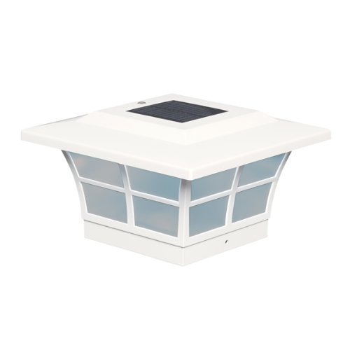 5X5 PVC PRESTIGE SOLAR POST CAP by Mr. Light [並行輸入品] B00J4NH7BO
