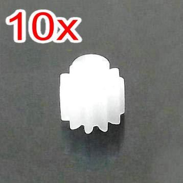 Yoton Accessories RC X600 Main Gear and Motor Pinion Gear - (Color: White)