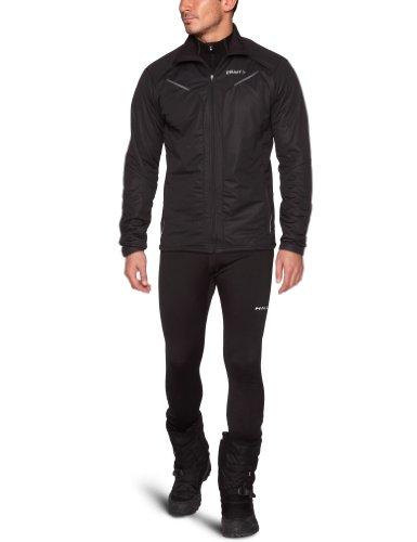 Craft Men's Performance XC Storm Jacket, Black, Medium