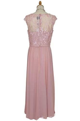 Spitzenkleid Abendkleid Farben 42 Jasmin Christine amp; Altrosa vers Bodenlanges Ballkleid JuJu 34 Gr 8BTX6qt