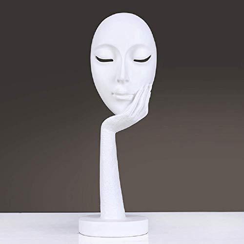 Jueven Escultura de resina Estatua, Nordic Moderno Minimalista Adornos pequeños Adornos Habitación de oficina de escritorio...