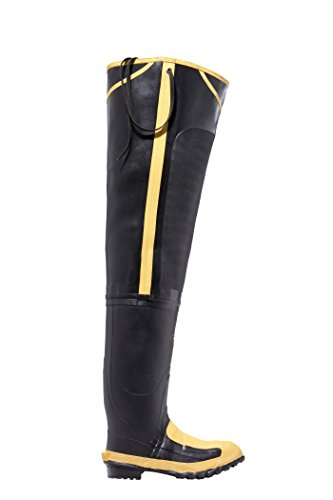 (Safety Toe Hip Boots, Size 11, FIBA, Blk, PR)