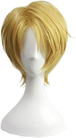 コスプレウィッグ 耐熱ウィッグ あんさんぶるスターズ! 変装用ウィッグ cosplay wig かつら 専用ネット付 (遊木真)