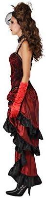 Rouge XS-S Atosa-61411 Atosa-61411-Costume-D/éguisement Cabaret Adulte 61411 Femme