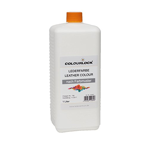 COLOURLOCK® Lederfarbe 1 Liter passend für Rover Perf Oxford Leather Charcoal jet