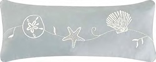 Treasures White Collection - C&F Home Treasures by The Sea Collection Pillow, 8 by 20-Inch
