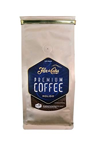 Cafe Flor de Caña Premium Ground Coffee, 12 Ounce Bag - From Nicaragua