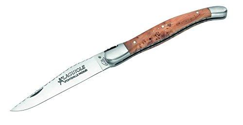 Laguiole Hartkopf-Taschenmesser, 1.4110-Stahl grau, M